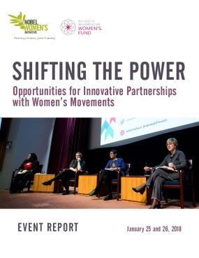Shifting the Power: Opportunities for Innovative Partnerships with Women's Movements