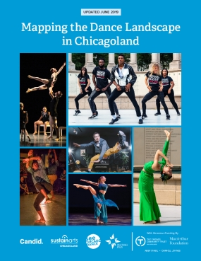 Mapping the Chicago-area Dance Landscape