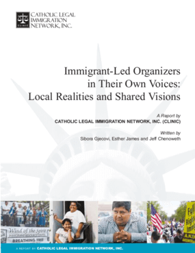 Immigrant-Led Organizers in Their Own Voices