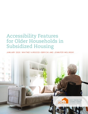 Accessibility Features for Older Households in Subsidized Housing