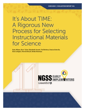 It's About TIME: A Rigorous New Process for Selecting Instructional Materials for Science