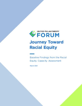 Journey Toward Racial Equity: Baseline Findings from the Racial Equity Capacity Assessment