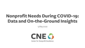 Nonprofit Needs During COVID-19: Data and On-the-Ground Insights