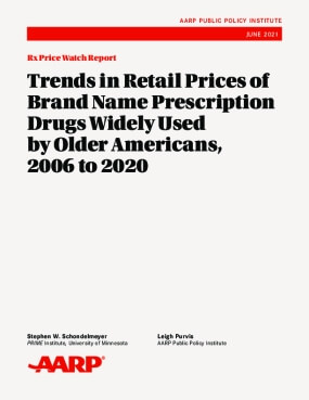 Trends in Retail Prices of Brand Name Prescription Drugs Widely Used by Older Americans, 2006 to 2020
