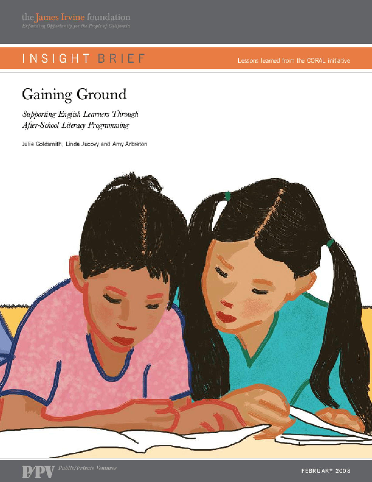 Gaining Ground: Supporting English Learners Through After-School Literacy Programming
